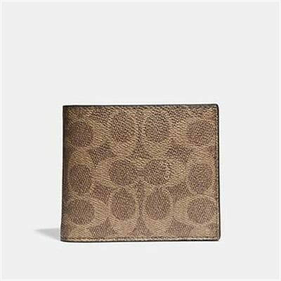 Fashion 4 - 3-IN-1 WALLET IN SIGNATURE CANVAS