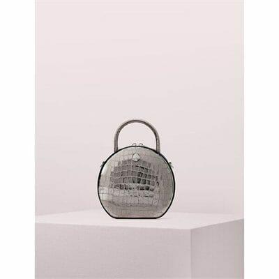 Fashion 4 - Andi Metallic Croc-embossed Canteen Bag