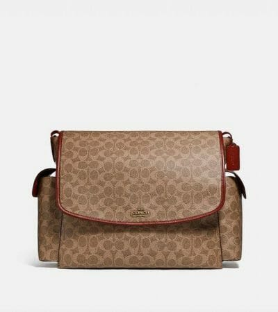 Fashion 4 - Baby Messenger Bag In Signature Canvas
