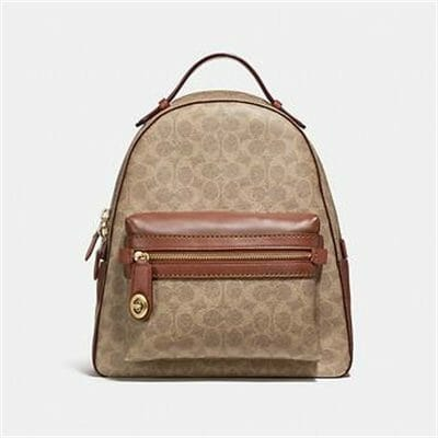 Fashion 4 - CAMPUS BACKPACK IN SIGNATURE CANVAS