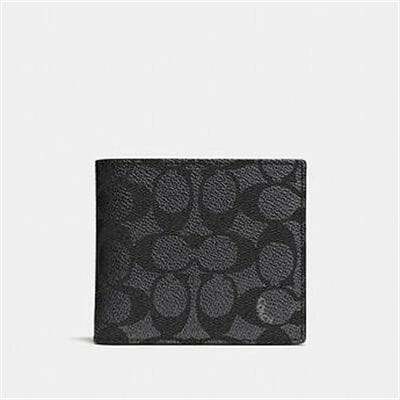 Fashion 4 - COIN WALLET IN SIGNATURE CANVAS
