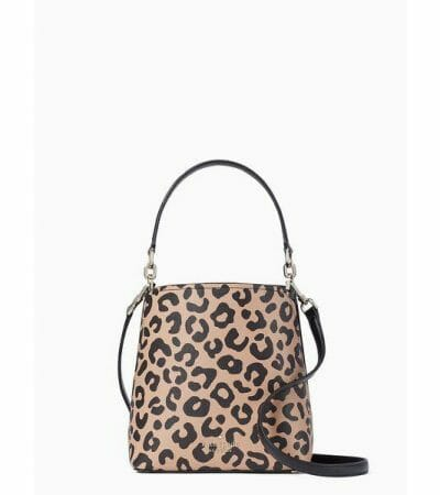 Fashion 4 - Darcy Graphic Leopard Small Bucket