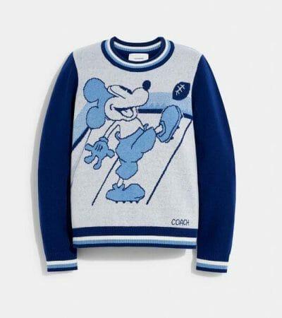 Fashion 4 - Disney X Coach Mickey Mouse Jacquard Sweater