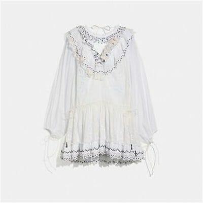 Fashion 4 - ROMANTIC MINI DRESS WITH STUD EMBELLISHMENTS