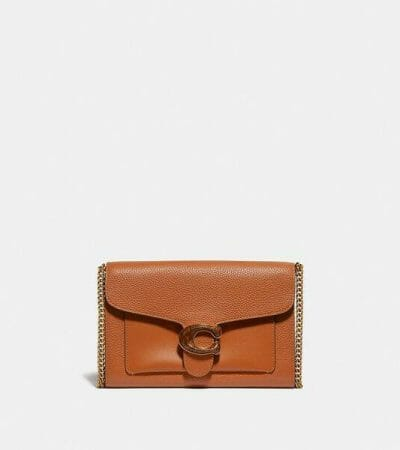 Fashion 4 - Tabby Chain Clutch In Colorblock With Snakeskin Detail