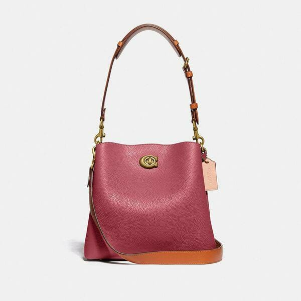 Fashion 4 - Willow Bucket Bag In Colorblock
