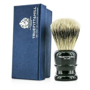 OJAM Online Shopping - Truefitt & Hill Wellington Super Badger Shave Brush - # Faux Ebony 1pc Men's Skincare