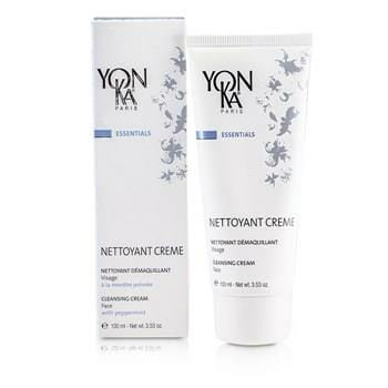 OJAM Online Shopping - Yonka Essentials Face Cleansing Cream With Peppermint 100ml/3.53oz Skincare