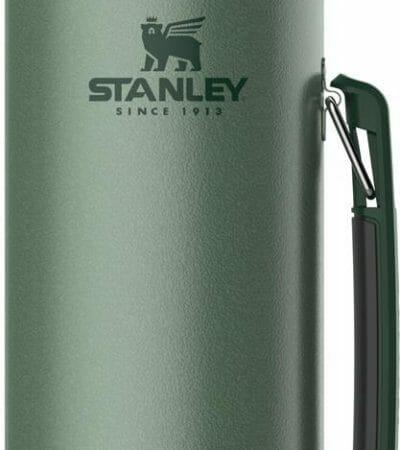 OJAM Online Shopping - Stanley Vacuum Bottle Hammertone Green 1.1 QT/1.0L